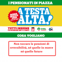 """""""A testa alta"""" per i diritti dei pensionati. Una delegazione Uilp Trapani alla manifestazione unitaria del 19 maggio a Roma"""