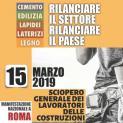 """Il 15 marzo anche i lavoratori edili trapanesi manifesteranno a Roma - Tumbarello (Feneal Uil Trapani): """"Porteremo in piazza le richieste del settore costruzioni per il territorio"""""""